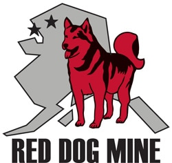 red dog mine logo