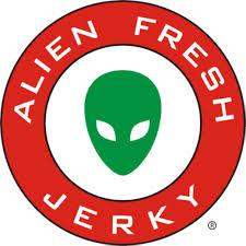 alien fresh jerky logo